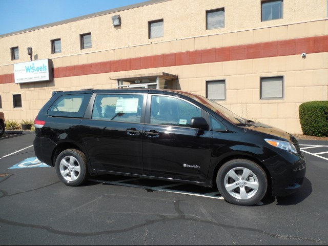 2014 Toyota Sienna Wheelchair van for sale in Connecticut.