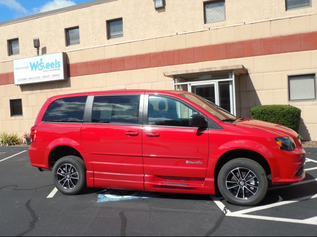 2015 Dodge Grand Caravan Wheelchair van for sale in Connecticut.