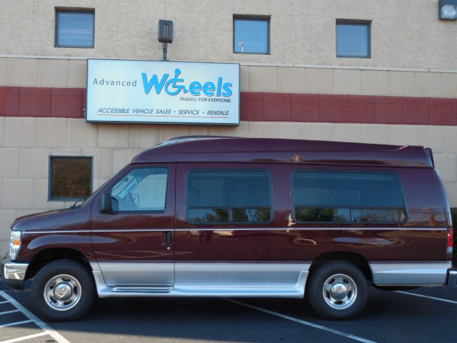 2008 Ford E250 Wheelchair van for sale in Connecticut.