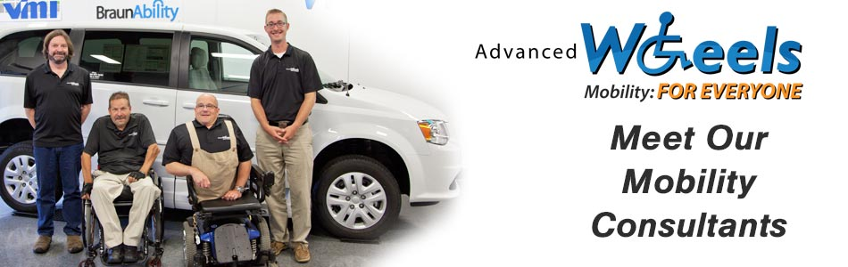 Meet Our Mobility Consultants and Wheelchair Van Experts