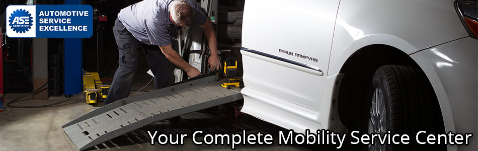 Your Complete Mobility Service Center!